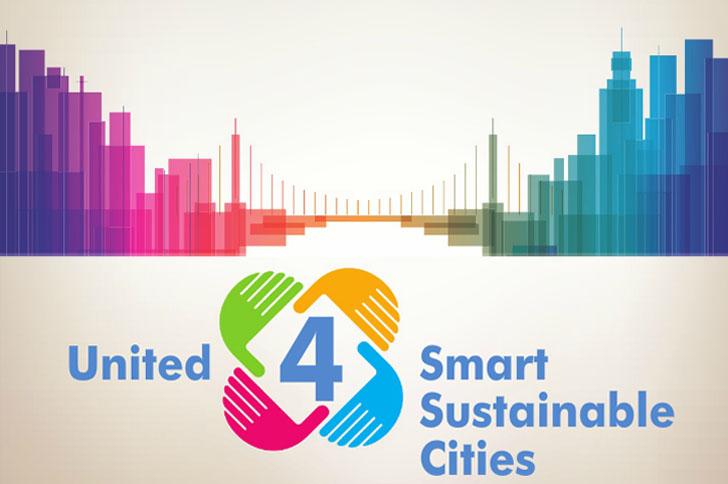 Iniciativa mundial Unidons por las Ciudades Sostenibles e Inteligentes (U4SSC) primera reunión en Ginebra.