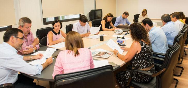 La Junta de Gobierno de Cartagena aprobó el Plan Director de Smart City. Los miembros de la Junta de Gobierno reunidos