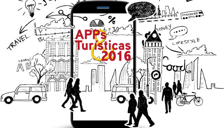 Portada de la Guía de Apps Turísticas 2016