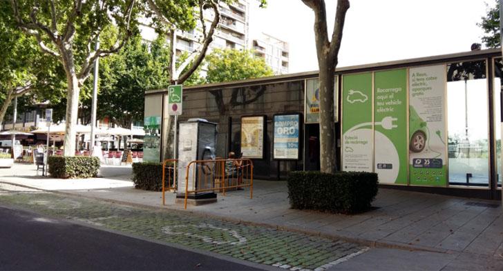La red de puntos de recarga de vehículos eléctricos de Reus incorpora dos puntos de recarga ultrarrápida