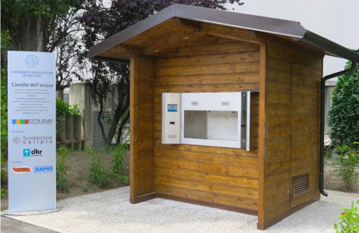Paterna instala un sistema que filtra el agua para liberarla del cloro. Una de las infraestructuras denominadas 'Casa del Agua'