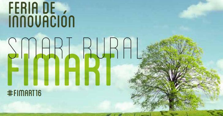 La Feria de Innovación Smart Rural FIMART2016 se celebra los días 20, 21 y 22 de Octubre en Córdoba