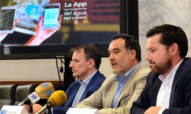 Presentación de la aplicación Smart Aqua en el Ayuntamiento de Santander