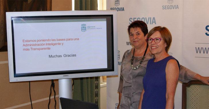 Presentación del servicio de Administración Electrónica en Segovia