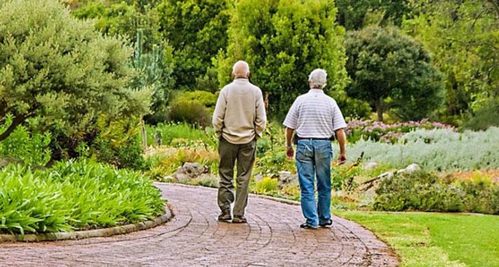 Resultado de imagen de personas mayores caminando