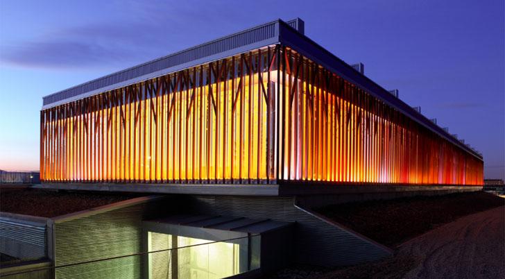 El plan Life Green TIC reduce el consumo un 31% y 218 toneladas de CO2- Edificio PRAE