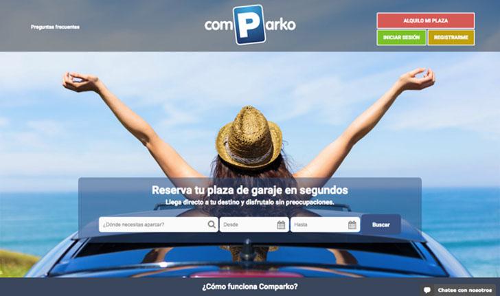 Comparko es una plataforma de economía colaborativa para compartir plaza de aparcamiento