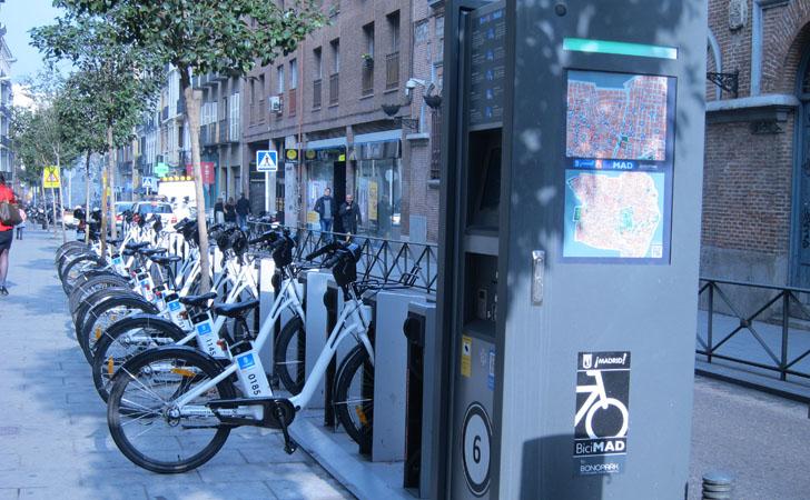 El reto de la Movilidad Urbana Sostenible e Inteligente. Bicicletas públicas de alquiler