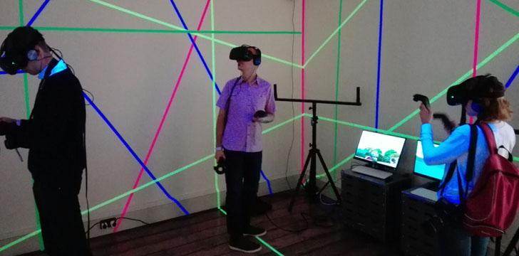 Proyecto VRPOL!S de realidad virtual que pone al espectador en la piel del ciudadano de Santander en el futuro