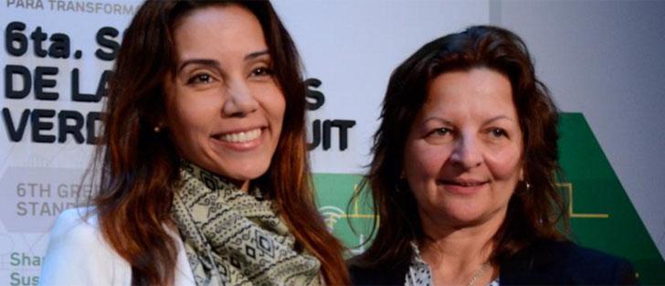 Premian a Medellín por su plataforma en línea de Seguridad Ciudadana. El premio fue recibido por Wendy Uribe Muñoz, directora Administrativa y Financiera de la Empresa para la Seguridad Urbana