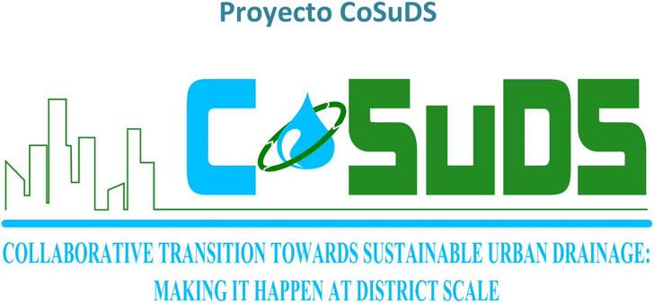 Proyecto europeo CoSuDS para promover Sistemas Urbanos de Drenaje Sostenible
