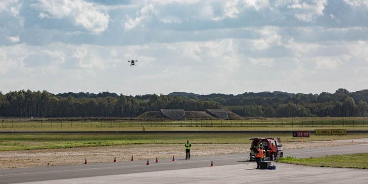 Un sistema de gestión de tráfico de vehículos aéreos no tripulados se prueba en Holanda