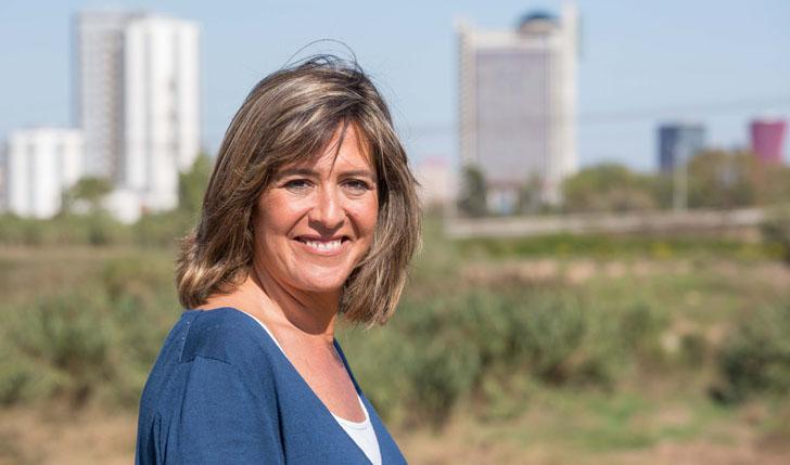 Núria Marín, alcaldesa de L'Hospitalet y presidenta de la Red Española de Ciudades Inteligentes