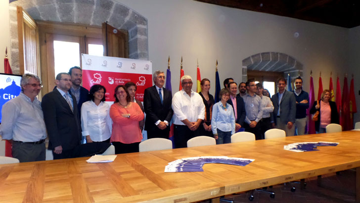 Primera reunión de los miembros del proyecto Smart Heritage City en Ávila