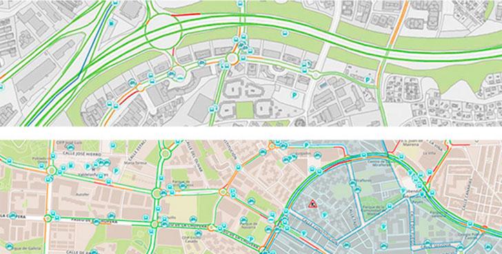 Captura del mapa interactivo de Alcobendas incluido en el Geoportal del Ayuntamiento