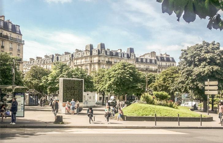 'Árboles urbanos' inteligentes para reducir la contaminación del aire. CityTree en París