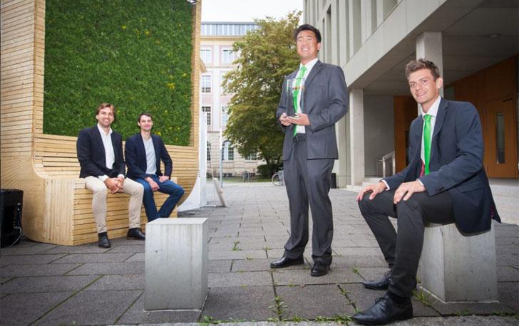 'Árboles urbanos' inteligentes para reducir la contaminación del aire. Socios de la startup alemana creadora del CityTree