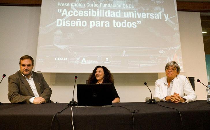 Presentación del Curso de Accesibilidad Universal y Diseño para Todos en Madrid