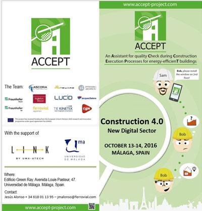 La Universidad de Málaga presenta el proyecto ACCEPT para utilizar Smart Glasses en la Construcción