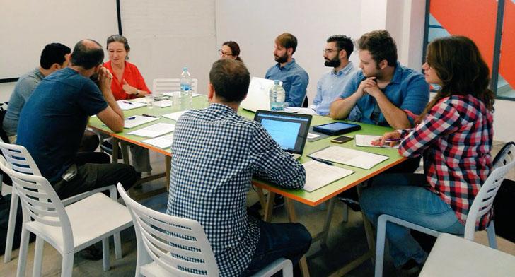 InnDEA Valencia forma un grupo de trabajo de Realidad Virtual. Reunión del grupo