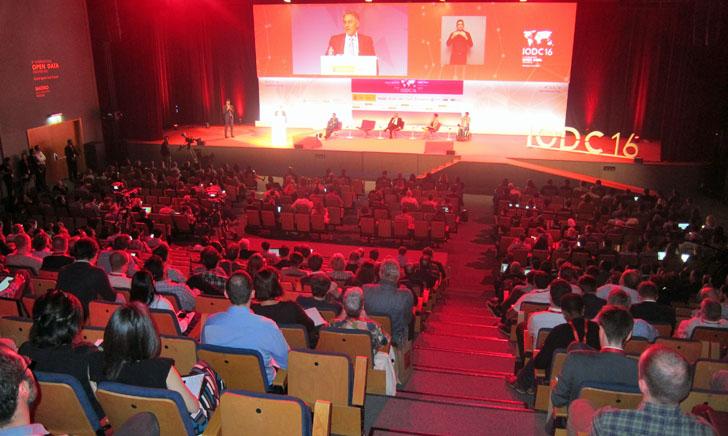 4ª Conferencia Internacional de Datos Abiertos IODC16 en Madrid. Sesión inaugural