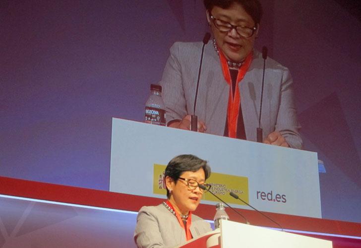 4ª Conferencia Internacional de Datos Abiertos IODC16 en Madrid. Haisham Fu, del Banco Mundial