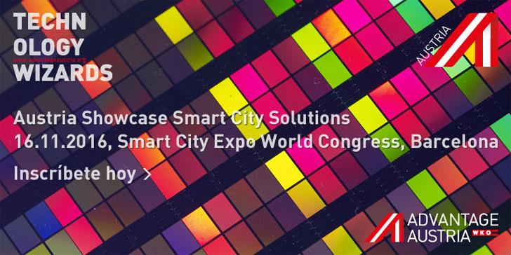 Advantage Austria ofrece el seminario Austria Showcase Smart City Solutions en el congreso Smart City Expo World Congress 2016. Enlace a Inscripción