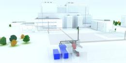 Un sistema de tuberías para gestionar los residuos en hospitales