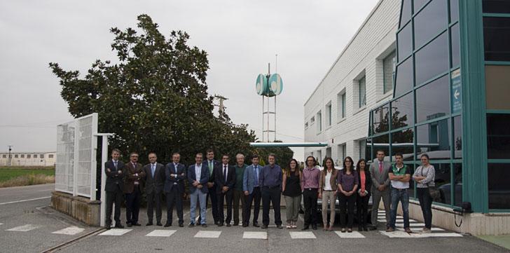Miembros del proyecto de investigación Spectra, asistentes a la reunión técnica de seguimiento