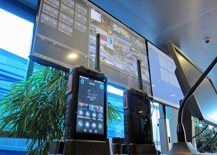 Primera red de banda ancha en España para Seguridad y Emergencias. Terminales y visión de pantallas