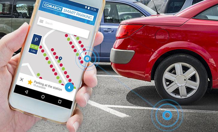 Cracovia implantará un sistema de información de aparcamiento mediante sensores inalámbricos y aplicación móvil