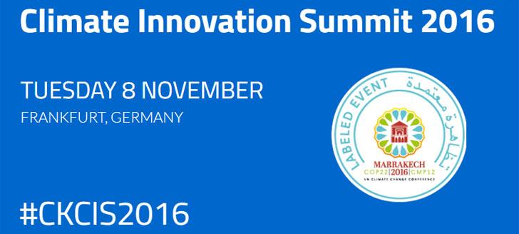 Frankfurt acoge la Cumbre de Innovación sobre el Clima de Climate-KIC