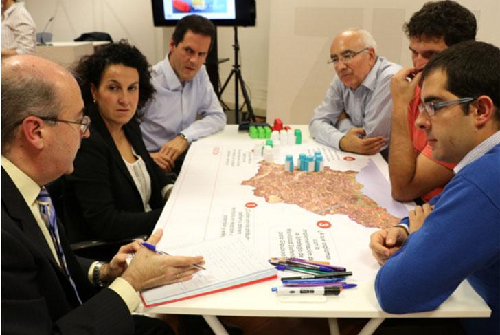 Reunión en la Diputación de Gipuzkoa para fijar la estrategia de impulso de la movilidad eléctrica