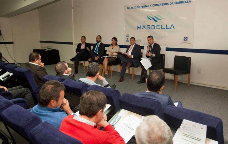 Sesión inaugural del I Encuentro Andaluz de Ciudades Inteligentes celebrado en Marbella los días 9 y 10 de noviembre