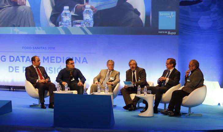 Mesa de debate en el Foro Sanitas 2016 sobre el Big Data y su importancia en la Medicina de Precisión