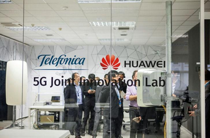 Telefónica y Huawei han realizado nuevas pruebas en redes 5G
