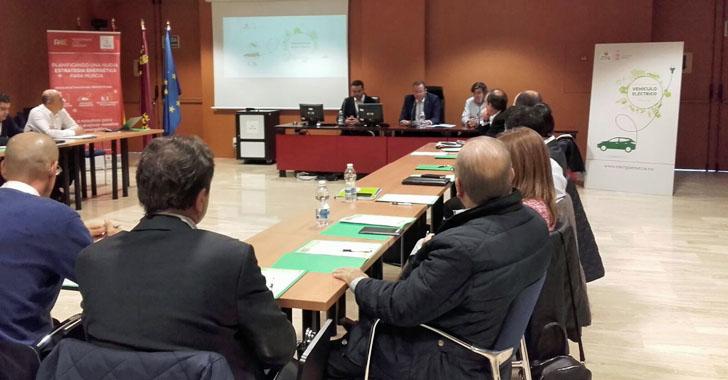 Inicio de la Mesa de Trabajo del Vehículo Eléctrico de Murcia