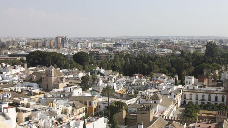 Ciudad de Sevilla, una de las analizadas dentro del diagnóstico de la Estrategia Andaluza de Calidad del Aire