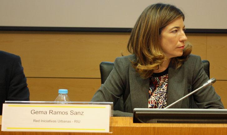 Gema Ramos, Jefa de Servicio de la Subdirección General de Cooperación Territorial Europea y Desarrollo Urbano