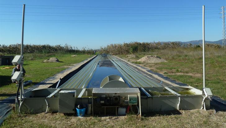 Canalización de aguas residuales dentro del proyecto europeo INCOVER