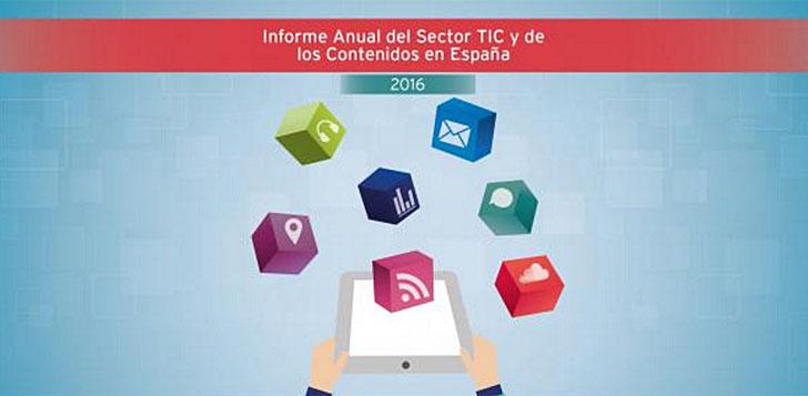 Informe anual del sector TIC y de los contenidos de la ONTSI