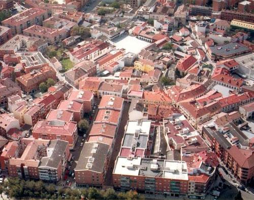 Vista de la ciudad de Pinto, que ha presentado su estrategia DUSI a la segunda convocatoria para su financiación con fondos FEDER.