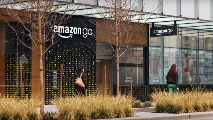 La tienda inteligente de Amazon donde no hay que pasar por caja. Fachada de la tienda física situada en Seattle
