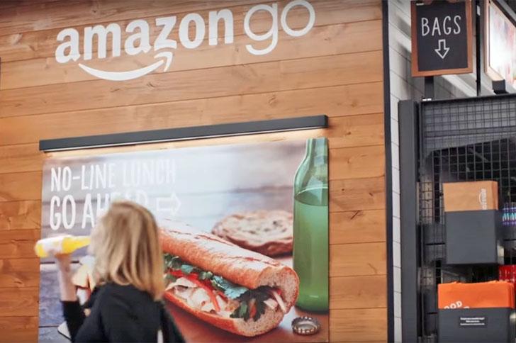 La tienda inteligente de Amazon donde no hay que pasar por caja. El servicio se llama Amazon Go