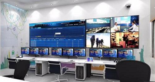 Una de las salas del Openlab de Huawei en Múnich