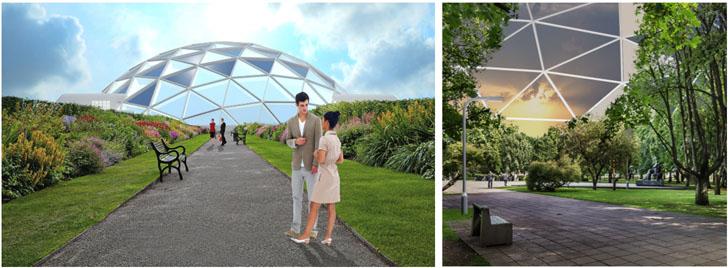 """Diseño del Anteproyecto en 3D del """"Biosphera Shopping Center"""""""