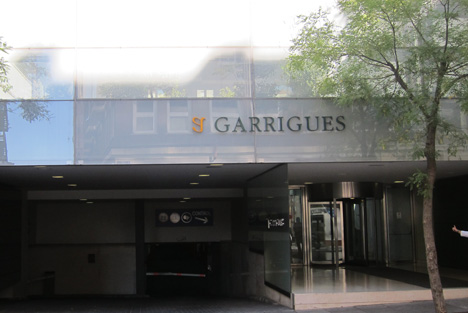 Entrada a Garrigues