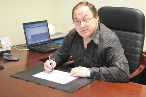 Antonio Ullate, propietario de Mecacontrol