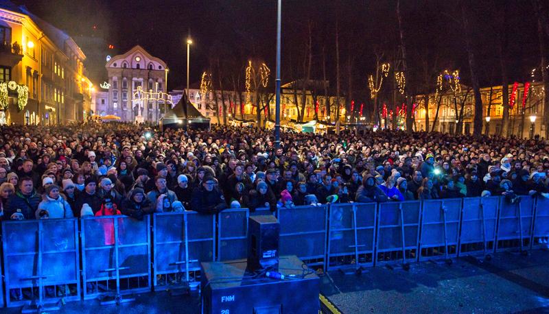 Evento en Liubliana para celebrar el año como Capital Verde Europea 2016, reconocimiento a sus proyectos de ciudad sostenible.