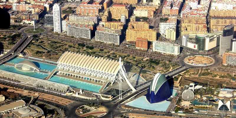 Vista de Valencia, donde se desarrollarán los tres proyectos pilotos ganadores del Concurso Transition Cities de eficiencia energética.